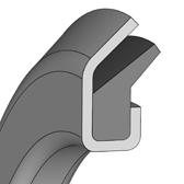 design sketch Axial Shaft Seals