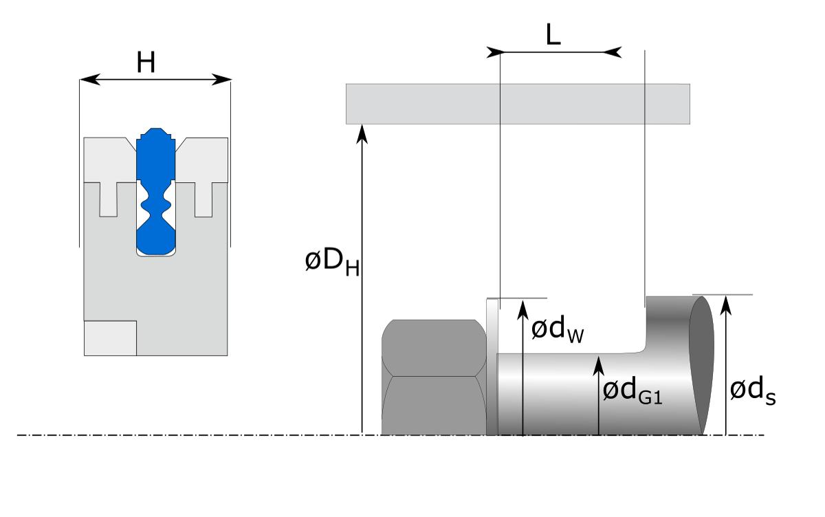 installation sketch PKG