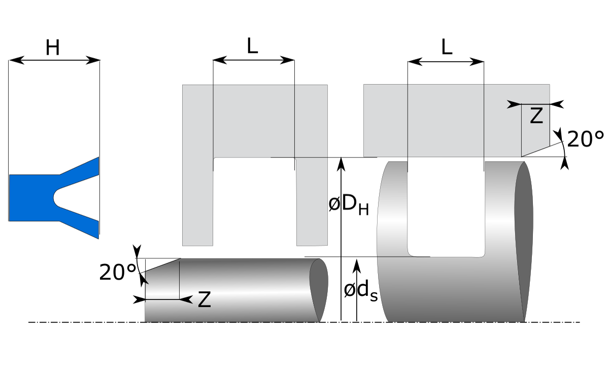 installation sketch Symmetric Seals